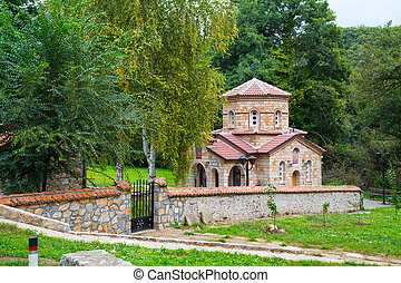 Church at Saint Naum Monastery in Macedonia - Church at...