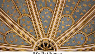 Church ceiling detail - Creative design of Church ceiling...