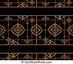 Geometric Abstract Pattern - Abstract geometric pattern in...