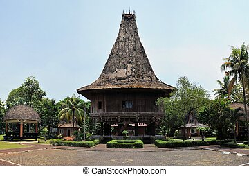 Traditional house on East Timor, Timor-Leste - A heritage...