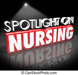 Spotlight on Nursing Career Medical Health Care Job Licensed...