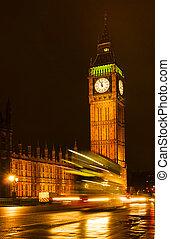 Big Ben in London uk famouse landscape