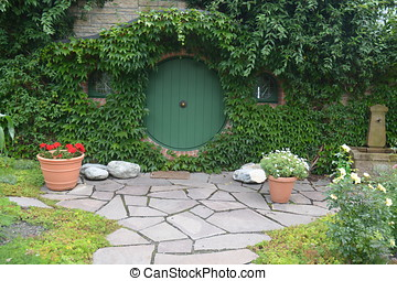 Hobbit House - Beautiful rebuilt house according to the...
