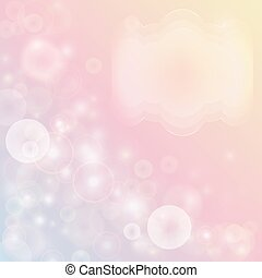 Pink abstract background with bokeh effect.