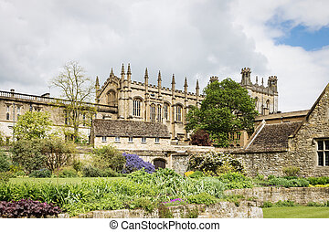 Christ Church College, Oxford, Oxfordshire UK - Popular...