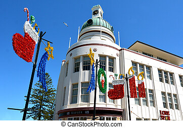 Napier - New Zealand - NAPIER, NZL - DEC 03 2014:T G...