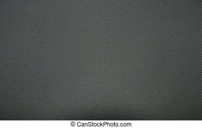 Gray fabric with a pattern
