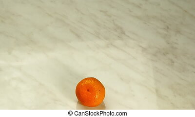 Tangerines in the Form of Heart - Tangerines Appear in the...