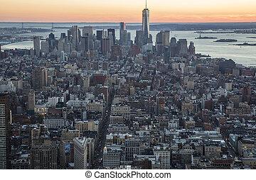 New York, Manhattan, Architecture,