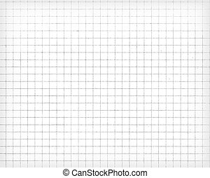 White squared paper sheet texture, background - White...