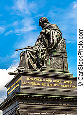 gebeeldhouwd kunstwerk, van, Friedrich, augustus, in,...