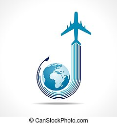 Tour and Tourism icon stock vector