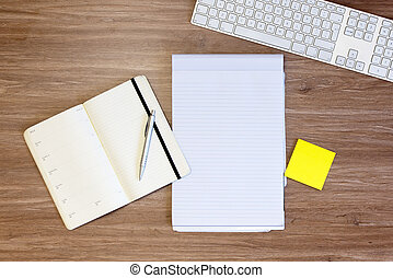 Planning and notes background