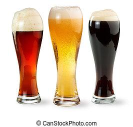 cerveza, pintas