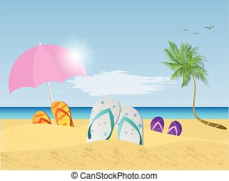 clipart beach scenes - photo #10