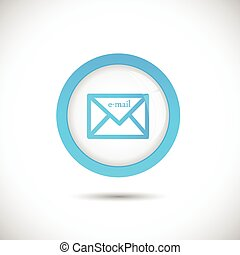 Email Button Illustration