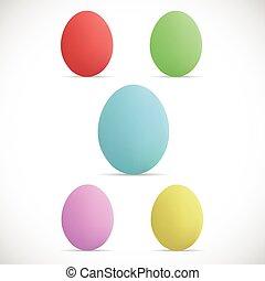 Easter Eggs Illustration