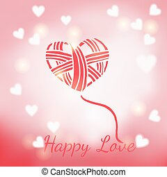 Happy Valentine's Day card for your design