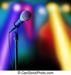 microfone,
