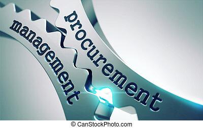 Procurement Management Concept on the Gears. - Procurement...