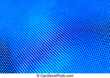 Blue abstract background with macro effect