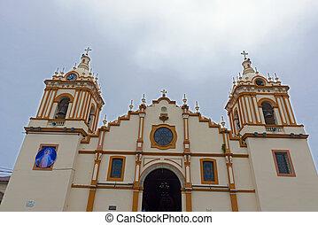 Iglesia Catedral Santiago Apostol in Santiago in Panama. -...