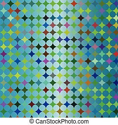 Blue colorful mosaic background, vector image for design...