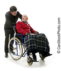 Man in wheelchair