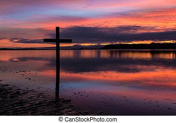 Dawn Black Cross