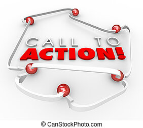 Call to Action System Network Connected Balls Marketing Advertis