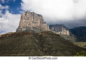 El Capitan, Guadalupe Mountains National Park in Texas, USA