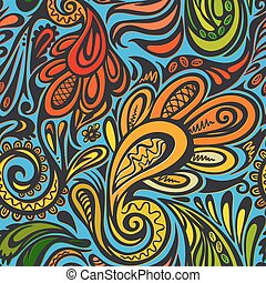 Paisley seamless pattern--model for design of gift packs,...