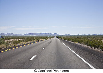 Interstate 10 in Arizona, USA