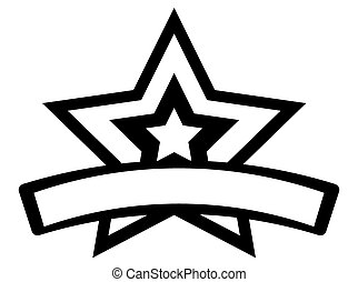 Star banner Vector Clipart Royalty Free. 86,244 Star ...