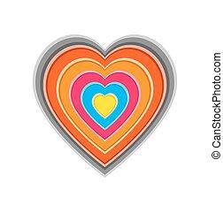 Coração, Amor, coloridos
