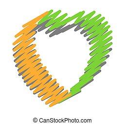 Scribble Heart Design