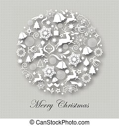 Christmas time - Marry Christmas ball and more design...