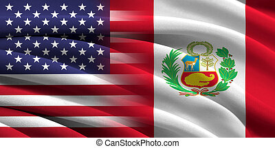 USA and Peru. Relations between two countries. Conceptual...