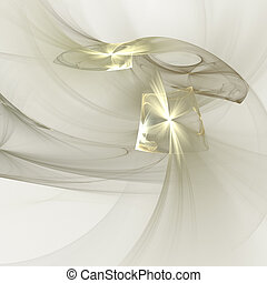 Abstract elegance background. Gold - white palette. Raster...