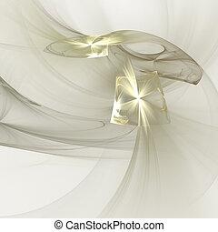 Abstract elegance background. Gold - white palette. Raster...