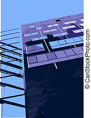 office building - Vector architectural elements Vector City...