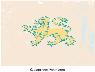 lion coat of arms icon