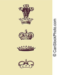Crown Icon - Vectorized Crown Icon. Vector illustration.