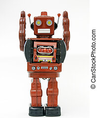 robot - reto robot toy