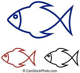 series of fish