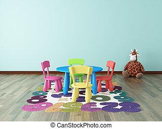 preschool kids room