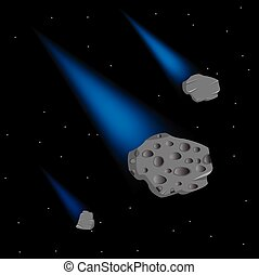 Asteroids in cosmos