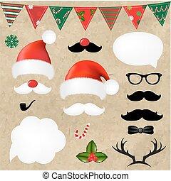 Christmas Hipster Set
