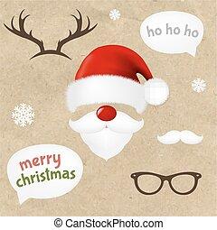 Hipster Christmas Set