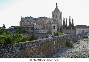 Ciudad Rodrigo - Cathedral of Santa Maria (12th Century) in...